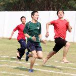Boys 100 meter dash